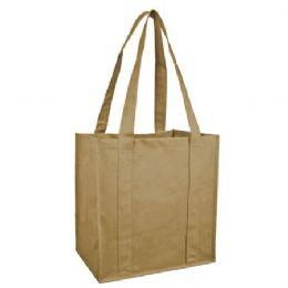 100 Units of Reusable Shopping Bag-Tan