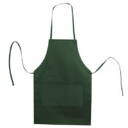 72 Units of Butcher Style Cotton Twill Apron Forest - Kitchen Linens