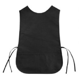 72 Units of Cotton Twill Cobbler Apron Black - Kitchen Linens