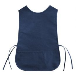 72 Units of Cotton Twill Cobbler Apron Navy - Kitchen Linens