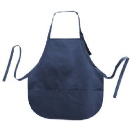 72 Units of Cotton Twill Apron Navy - Kitchen Linens