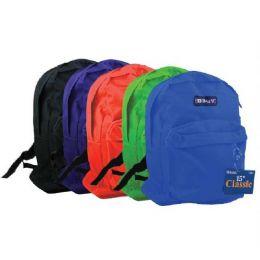 "25 Units of BAZIC 15"" School Backpack - Backpacks 15"" or Less"