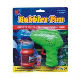 48 Units of Bubble Gun w/ Bubbles - Water Guns