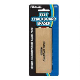 144 Units of BAZIC Felt Chalkboard Eraser - Chalk,Chalkboards,Crayons