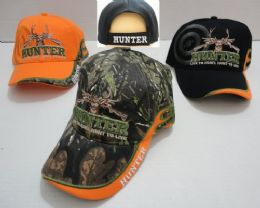 24 Units of Hunter HaT--Live To Hunt.hunt To Live [target Shadow] - Hunting Caps