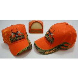 72 Units of Hunter HaT--Live To Hunt.hunt To Live [target Shadow]-Orange Only - Hunting Caps