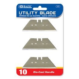 360 Units of BAZIC Utility Knife Replacement Blade (10/Pack) - Box Cutters and Blades