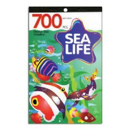 60 Units of Sea Life Series Assorted Sticker (700/Pack) - Stickers