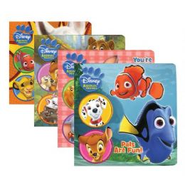 48 Units of ASSORTED DISNEY ANIMAL FRIENDS Board Books - Coloring & Activity Books
