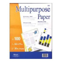 50 Units of Bazic 100 Ct. White Multipurpose Paper - Paper