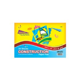 "48 Units of Bazic 64 Ct. 6"" X 9"" Mini Construction Paper Pad - Paper"