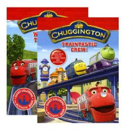 48 Units of CHUGGINGTON Giant Coloring & Activity Book - Coloring & Activity Books
