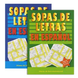 48 Units of CrucigramA-Sopas De Letras - Crosswords, Dictionaries, Puzzle books
