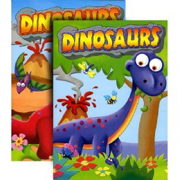 48 Units of DINOSAURS Coloring & Activity Book - Coloring & Activity Books