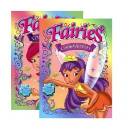 48 Units of FAIRIES Coloring & Activity Book - Coloring & Activity Books