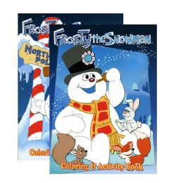96 Units of FROSTY THE SNOWMAN Coloring &Activity Books - Coloring & Activity Books