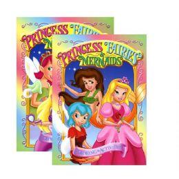 48 Units of Girl's Trio (princesS- FairieS-Mermaids) Coloring & Activity Book - Coloring & Activity Books