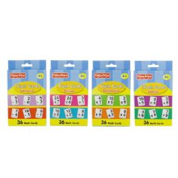48 Units of FISHER-PRICE Math Series Flash Cards (36/Pack) - Teacher & Student