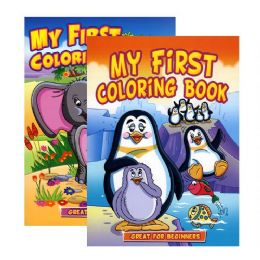 48 Units of Jumbo My First Coloring Book - Coloring & Activity Books