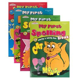 48 Units of Kappa Assorted My First Series Activity Book - Crosswords, Dictionaries, Puzzle books