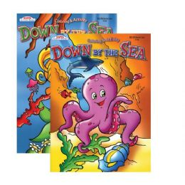 48 Units of Kappa Down By The Sea Coloring & Activity Book - Coloring & Activity Books