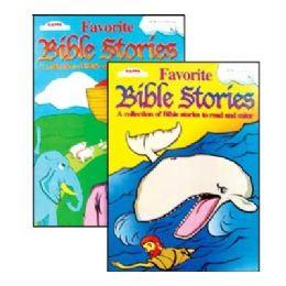 48 Units of Kappa Favorite Bible Stories Coloring & Activity Book - Coloring & Activity Books