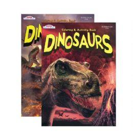 48 Units of Kappa Gigantic Dinosaur Coloring & Activity Book - Coloring & Activity Books
