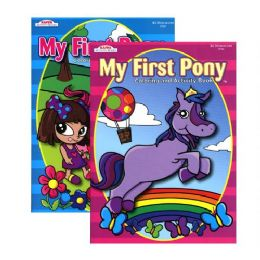 48 Units of Kappa My First Pony Coloring & Activity Book - Coloring & Activity Books