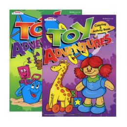 48 Units of Kappa Toy Adventures Coloring & Activity Book - Coloring & Activity Books