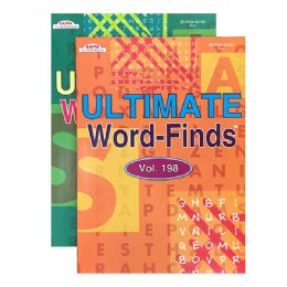 48 Units of Kappa Ultimate Word Finds Puzzle Book - Crosswords, Dictionaries, Puzzle books