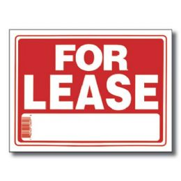 "144 Units of 9"" X 12"" For Lease Sign - Signs & Flags"