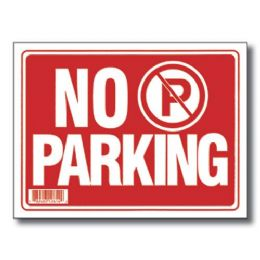 "144 Units of 9"" X 12"" No Parking Sign - Signs & Flags"