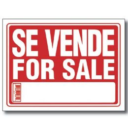 "144 Units of 9"" X 12"" Se Vende Sign - Signs & Flags"