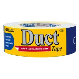 "48 Units of BAZIC 1.89"" X 60 Yards Blue Duct Tape - Tape"