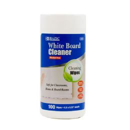 48 Units of Bazic 100 Ct. White Board Surface Wipes - Dry Erase
