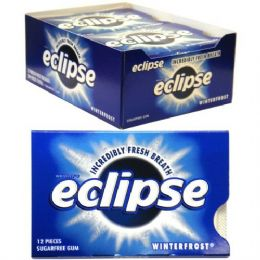 216 Units of Eclipse Gum Winterfrost - Food & Beverage