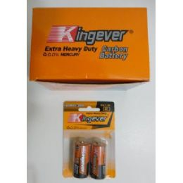 48 Units of 2pc C Batteries--Kingever - Batteries