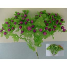 288 Units of 80 Head Berry-Like Silk Flower - Artificial Flowers