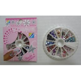 72 Units of 800pc Nail Jewels-Gems - Manicure and Pedicure Items