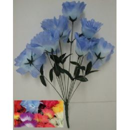 100 Units of 9 Head Open Flower - Artificial Flowers