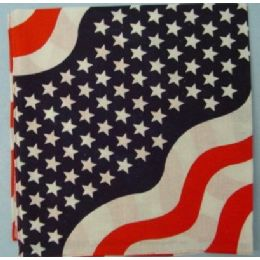48 Units of Bandana-Americana Wave - 4th Of July