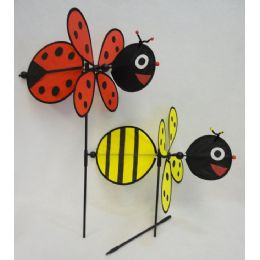 "120 Units of 16"" 3D Wind Spinner [Bug/Bee/Bunny] - Wind Spinners"