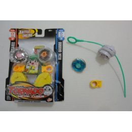 120 Units of  Tornado Speed Top-Double Pack - Light Up Toys