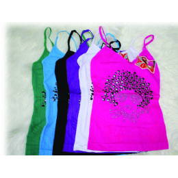 144 Units of Ladies Seamless Top - Womens Fashion Tops