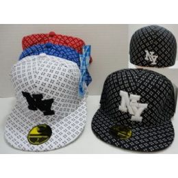 72 Units of Fitted NY Hat [Crosshairs] - Bucket Hats
