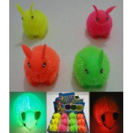 144 Units of Light Up Rabbit Spike Toy - Light Up Toys