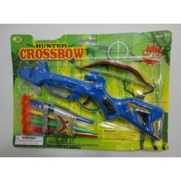 72 Units of Hunter Crossbow With 4 Arrows - Toy Weapons