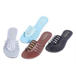 48 Units of Womans Slide In Slipper - Women's Sandals