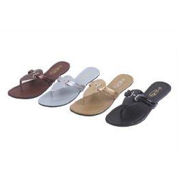 48 Units of Ladies' Fashion Sandals - Women's Sandals