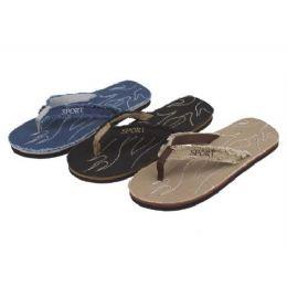 48 Units of Men's Sandal - Men's Flip Flops and Sandals